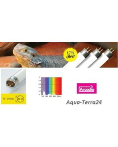 für €18,42, Arcadia D3+ T5 Desert/Reptile, 12/30% UVB/UVA, UV Reptile Lamp, Reptilienlampe